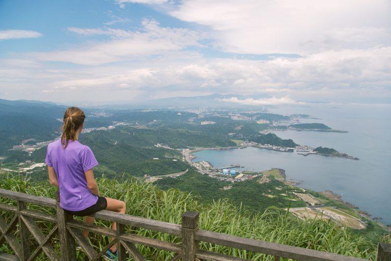 Keelung Mountain Peak, Jiufen – Taiwan