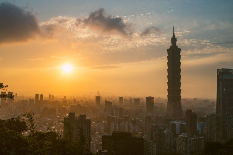 Most Amazing Sunset in Taiwan