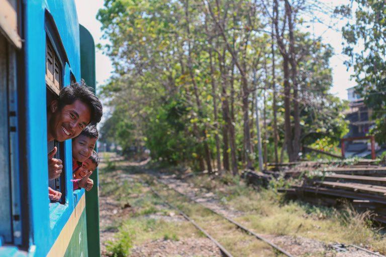 The Circular Train – Yangon, Myanmar