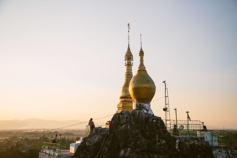 Sunset at the Taung Kwe Pagoda – Loikaw, Myanmar