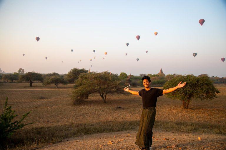 An Unforgettable Sunrise in Bagan, Myanmar