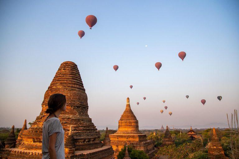 A Second Sunrise in Bagan