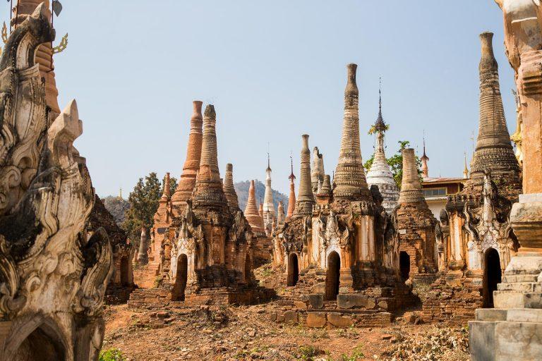 Shwe Inn Dein Pagoda – Inle Lake, Myanmar